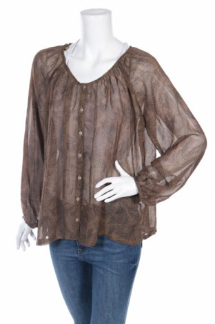 Дамска риза Znk, Размер M, Цвят Кафяв, Полиестер, Цена 7,18лв.