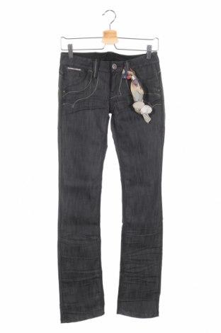 Γυναικείο Τζίν Bandits Du Monde, Μέγεθος XS, Χρώμα Γκρί, 64% βαμβάκι, 36% ελαστάνη, Τιμή 18,58€