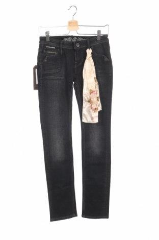 Дамски дънки Bandits Du Monde, Размер XS, Цвят Черен, 99% памук, 1% еластан, Цена 92,82лв.
