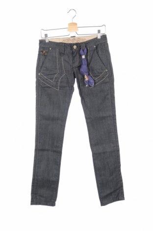 Дамски дънки Bandits Du Monde, Размер S, Цвят Син, 98% памук, 2% еластан, Цена 25,12лв.