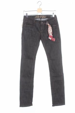Дамски дънки Bandits Du Monde, Размер XS, Цвят Черен, 64% памук, 36% еластан, Цена 93,60лв.