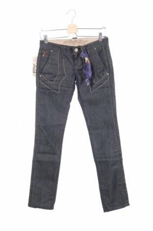Дамски дънки Bandits Du Monde, Размер XS, Цвят Син, 98% памук, 2% еластан, Цена 19,80лв.