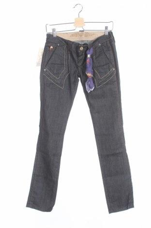 Дамски дънки Bandits Du Monde, Размер XS, Цвят Син, 98% памук, 2% еластан, Цена 25,12лв.