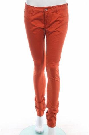 Дамски дънки Le Temps Des Cerises, Размер M, Цвят Оранжев, 98% памук, 2% еластан, Цена 119,60лв.