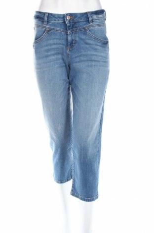 Blugi de femei Tom Tailor, Mărime S, Culoare Albastru, 98% bumbac, 2% elastan, Preț 46,84 Lei