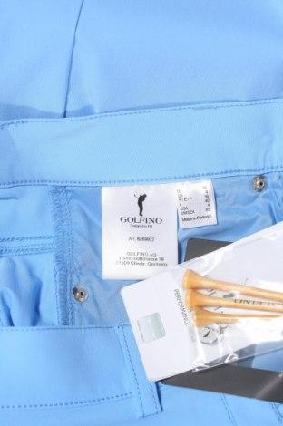 Γυναικείο κοντό παντελόνι Golfino, Μέγεθος XS, Χρώμα Μπλέ, 94% πολυαμίδη, 6% ελαστάνη, Τιμή 17,25€
