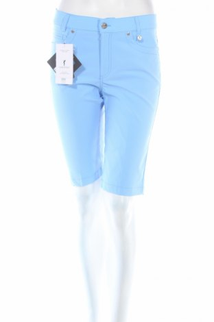 Дамски къс панталон Golfino, Размер S, Цвят Син, 94% полиамид, 6% еластан, Цена 20,28лв.