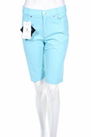 Дамски къс панталон Golfino, Размер S, Цвят Син, 94% полиамид, 6% еластан, Цена 14,56лв.