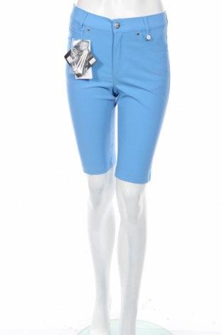 Γυναικείο κοντό παντελόνι Golfino, Μέγεθος XS, Χρώμα Μπλέ, 94% πολυαμίδη, 6% ελαστάνη, Τιμή 14,63€