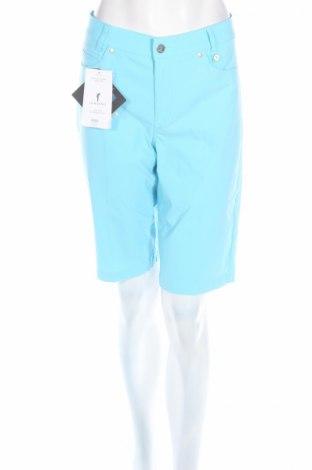 Дамски къс панталон Golfino, Размер L, Цвят Син, 94% полиамид, 6% еластан, Цена 29,64лв.