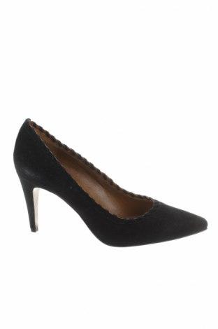 Dámske topánky  Heyraud, Veľkosť 39, Farba Čierna, Prírodný velur , Cena  27,68€