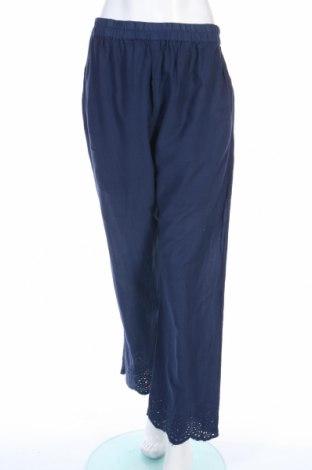 Дамски панталон Ada Gatti, Размер L, Цвят Син, Вискоза, Цена 20,65лв.