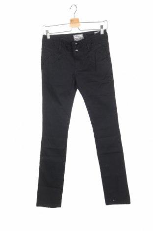 Дамски панталон Bandits Du Monde, Размер XS, Цвят Черен, 98% памук, 2% еластан, Цена 17,56лв.