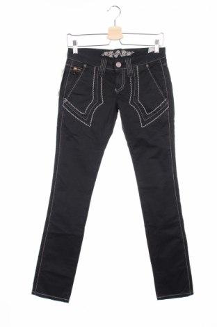 Дамски панталон Bandits Du Monde, Размер S, Цвят Черен, 97% памук, 3% еластан, Цена 25,12лв.