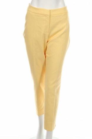 Dámské kalhoty  Comma,, Rozměr L, Barva Žlutá, 57% bavlna, 40% polyester, 3% elastan, Cena  675,00Kč