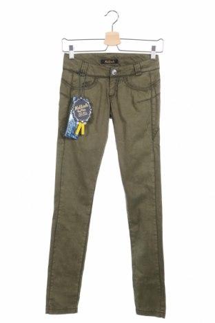 Дамски панталон Killah, Размер XXS, Цвят Зелен, 97% памук, 3% еластан, Цена 24,44лв.