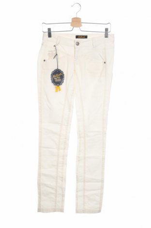 Дамски панталон Killah, Размер XS, Цвят Бял, 97% полиуретан, 3% еластан, Цена 21,32лв.