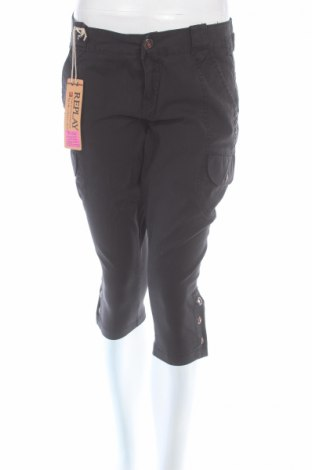 Дамски панталон Replay, Размер M, Цвят Сив, Памук, Цена 16,49лв.