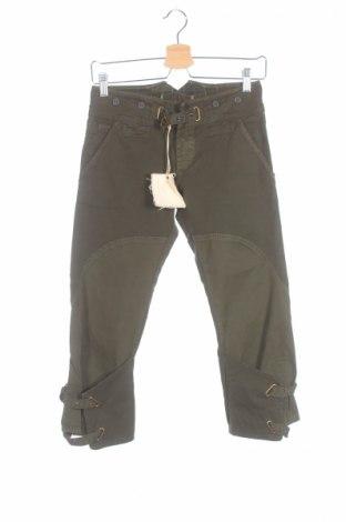 Дамски панталон Replay, Размер XS, Цвят Зелен, 98% памук, 2% еластан, Цена 16,02лв.