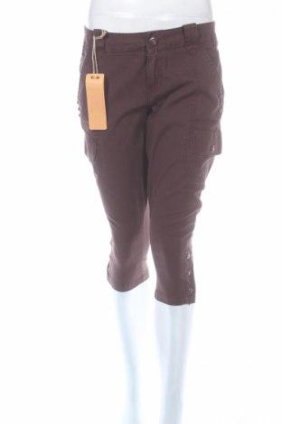 Дамски панталон Replay, Размер M, Цвят Кафяв, Памук, Цена 15,04лв.