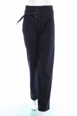 Dámské kalhoty  Vanessa Bruno, Rozměr M, Barva Modrá, 98% bavlna, 2% elastan, Cena  509,00Kč