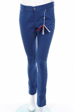Γυναικείο παντελόνι Vicomte A., Μέγεθος M, Χρώμα Μπλέ, 98% βαμβάκι, 2% ελαστάνη, Τιμή 16,39€