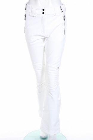 Дамски панталон за зимни спортове J.Lindeberg, Размер M, Цвят Бял, 86% полиестер, 8% полиуретан, 6% еластан, Цена 200,76лв.