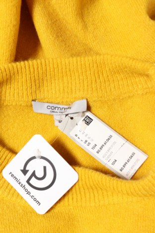 Дамски пуловер Comma,, Размер XL, Цвят Жълт, 70% полиакрил, 27% полиамид, 3% еластан, Цена 111,20лв.
