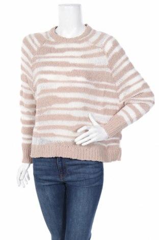 Дамски пуловер Mango, Размер M, Цвят Бежов, 58% полиамид, 38% акрил, 4% вълна, Цена 59,00лв.