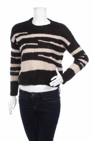 Дамски пуловер Mango, Размер S, Цвят Черен, 70% акрил, 12% вълна, 10% полиамид, 8% вълна от алпака, Цена 68,00лв.