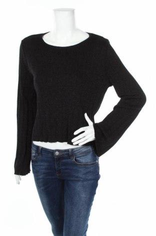 Дамски пуловер Mango, Размер M, Цвят Черен, 94% вискоза, 6% полиестер, Цена 59,00лв.