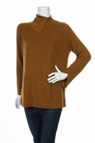 Дамски пуловер Mango, Размер M, Цвят Кафяв, 55% памук, 40% полиестер, 5% вълна, Цена 68,00лв.
