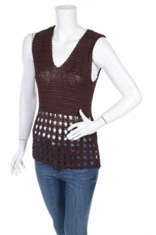Дамски пуловер SUSPECT, Размер L, Цвят Кафяв, Вискоза, Цена 5,75лв.