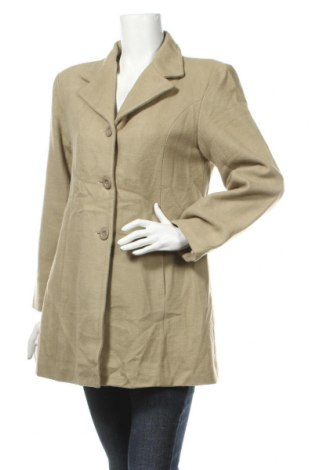 Γυναικείο παλτό Absolut Joy, Μέγεθος L, Χρώμα  Μπέζ, 70% μαλλί, 30% βισκόζη, Τιμή 40,27€