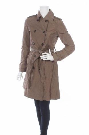 Дамско палто GF Ferre', Размер XS, Цвят Кафяв, 49% полиамид, 45% памук, 6% метални нишки, Цена 42,90лв.