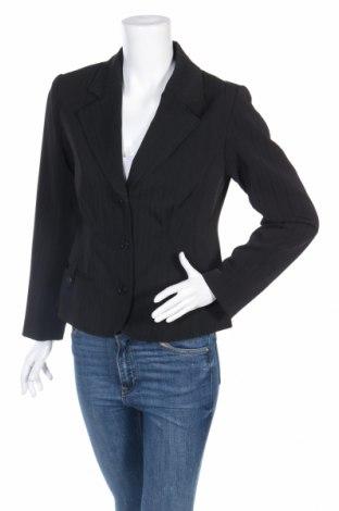 Дамско сако Basic Line By Casual Wear, Размер M, Цвят Черен, 96% полиестер, 4% еластан, Цена 36,40лв.