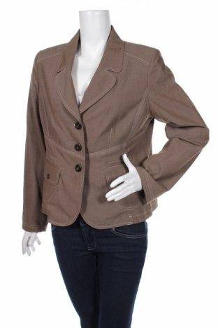 Дамско сако Biba, Размер L, Цвят Кафяв, 67% други нишки, 29% вискоза, 4% еластан, Цена 15,08лв.