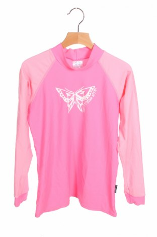 Детска блуза, Размер 11-12y/ 152-158 см, Цвят Розов, 82% полиамид, 18% еластан, Цена 3,15лв.