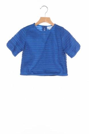 Детска блуза, Размер 7-8y/ 128-134 см, Цвят Син, Полиестер, Цена 4,50лв.