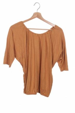 Детска блуза Cfl Colors for life, Размер 11-12y/ 152-158 см, Цвят Кафяв, 95% вискоза, 5% еластан, Цена 8,40лв.