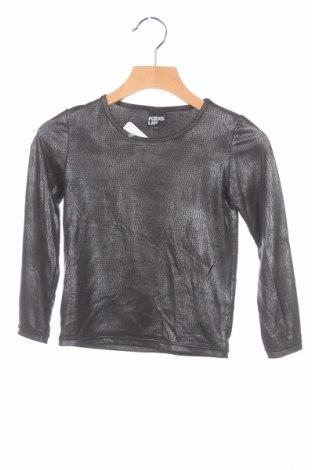 Детска блуза Kids up, Размер 2-3y/ 98-104 см, Цвят Черен, 90% полиестер, 10% еластан, Цена 3,00лв.