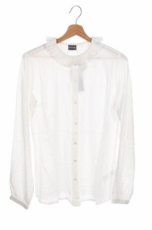 Παιδικό πουκάμισο, Μέγεθος 14-15y/ 168-170 εκ., Χρώμα Λευκό, Πολυεστέρας, Τιμή 4,12€