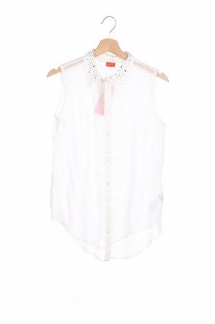 Παιδικό πουκάμισο Cfl Colors for life, Μέγεθος 15-18y/ 170-176 εκ., Χρώμα Λευκό, 100% πολυεστέρας, Τιμή 1,03€