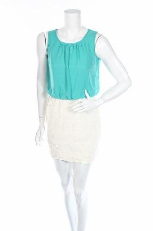 Детска рокля, Размер 15-18y/ 170-176 см, Цвят Зелен, Памук, полиестер, Цена 3,75лв.