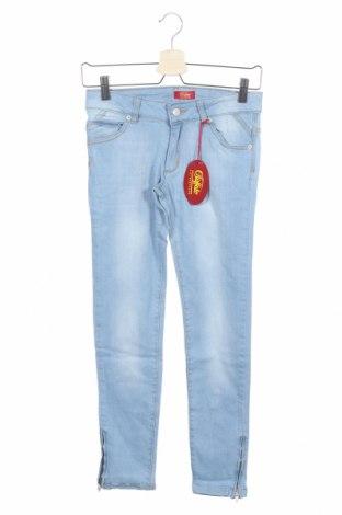 Dziecięce jeansy Buffalo, Rozmiar 11-12y/ 152-158 cm, Kolor Niebieski, 65% poliester, 35% bawełna, Cena 24,82zł