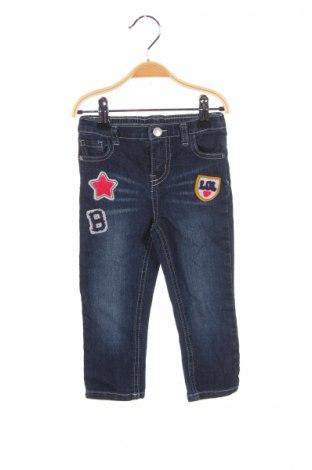 Dětské džíny  Koala Kids, Rozměr 18-24m/ 86-98 cm, Barva Modrá, 80% bavlna, 18% polyester, 2% elastan, Cena  106,00Kč
