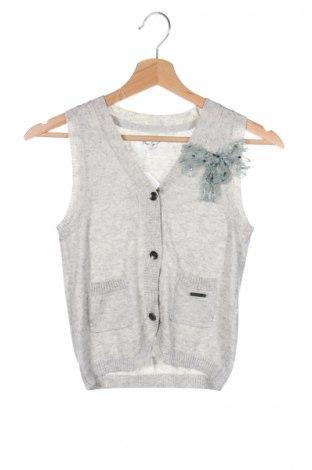 Детски елек Pepe Jeans, Размер 9-10y/ 140-146 см, Цвят Сив, 45% полиамид, 42% вискоза, 10% вълна, 3% лиосел, Цена 12,00лв.