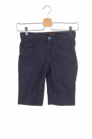 Pantaloni scurți de copii S.Oliver, Mărime 8-9y/ 134-140 cm, Culoare Albastru, 98% bumbac, 2% elastan, Preț 40,53 Lei