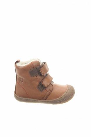 Παιδικά παπούτσια Naturino, Μέγεθος 19, Χρώμα Καφέ, Γνήσιο δέρμα, Τιμή 26,54€