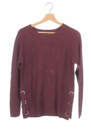 Детски пуловер Arizona, Размер 11-12y/ 152-158 см, Цвят Лилав, 50% памук, 50% полиакрил, Цена 18,62лв.